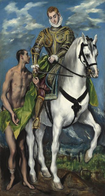 , 'Der Heilige Martin und der Bettler,' 1597 / 1599, Gemäldegalerie Alte Meister