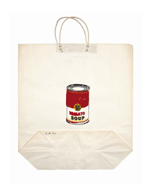 Andy Warhol, 'Campbell's Soup Can on Shopping Bag', 1964, Christie's