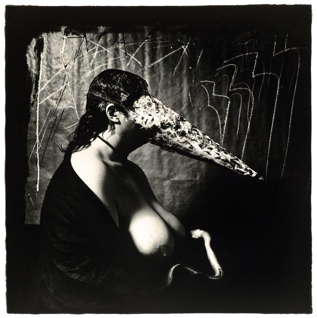 Joel-Peter Witkin, 'Woman Breastfeeding An Eel, NM', 1979, Etherton Gallery