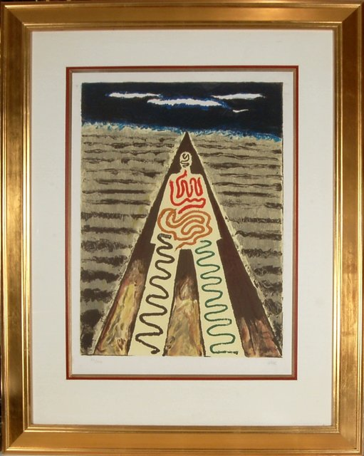 Man Ray, 'Les Nuits De aint Jean De Luz', 1968, Print, Color lithograph, Joseph Grossman Fine Art Gallery