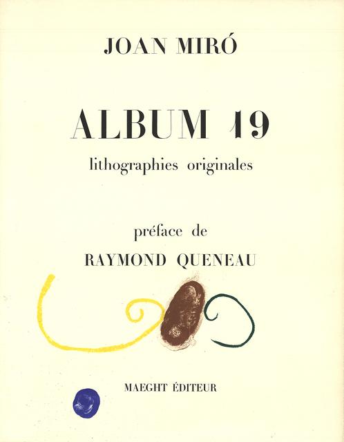 Joan Miró, 'Album 19', 1961, ArtWise
