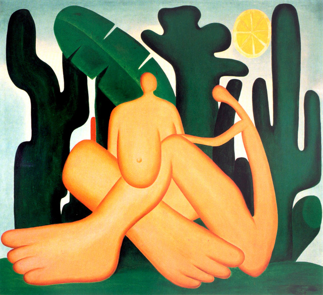 , 'Tapestry Tarsila do Amaral - Antropofagia,' 2016, By Kamy