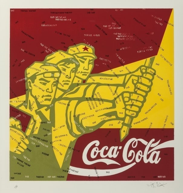 Wang Guangyi 王广义, 'Coca Cola (red)', 2006, Digard Auction