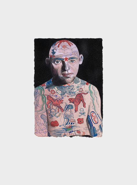 , 'Tattooed People, Lex,' 2015, Joanna Bryant & Julian Page