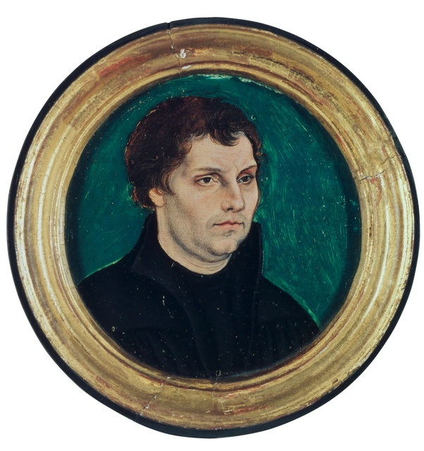 , 'Locket Portrait of Martin Luther,' 1525, Kunstmuseum Basel