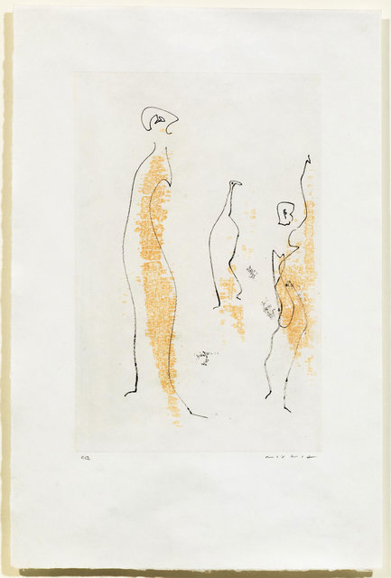 Max Ernst, 'Untitled', 1965, Print, Vernis mou and etching, Koller Auctions