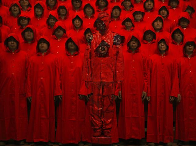 , 'Red n°1,' 2012, Danysz Gallery