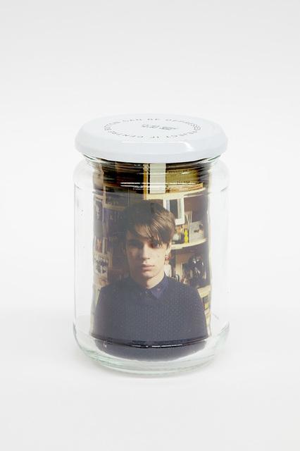 , 'Utility Jam Jar (Alex as Andy),' 2014, Spike Island