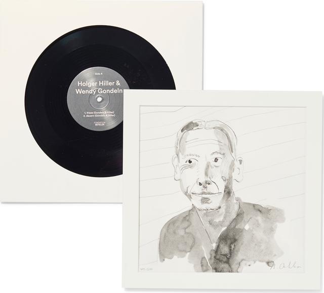 Albert Oehlen, 'LP with Etching', 2016, Fondation Beyeler