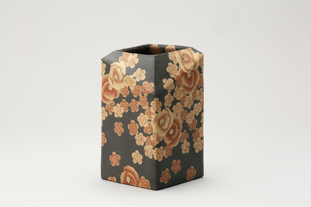 , 'Mumyoi Neriage Square Jar with Flower Patterns,' 2016, Onishi Gallery
