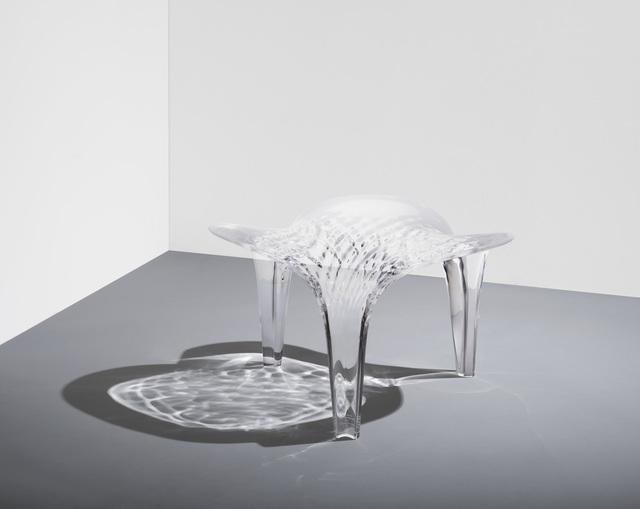 , 'Stool 'Liquid Glacial',' 2015, Zaha Hadid