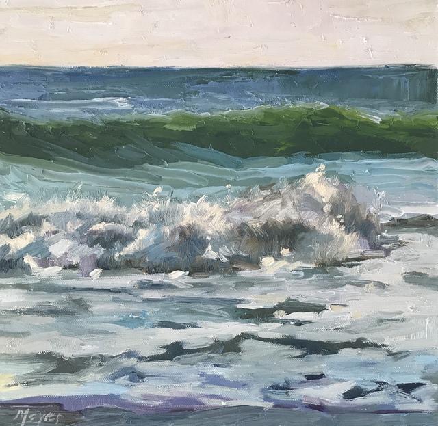 , 'Making Waves IV,' 2018, Meyer Vogl Gallery