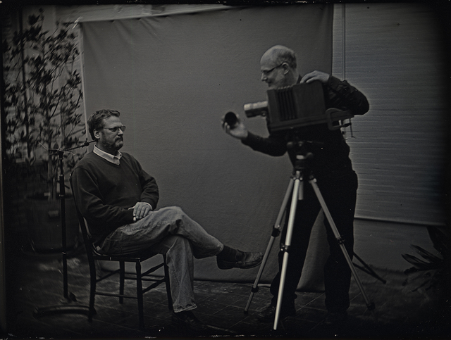 , 'Mike Robinson and Mark Osterman,' 2012, G. Gibson Gallery