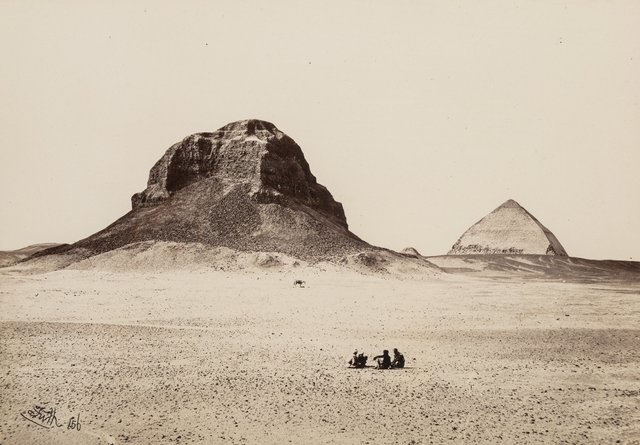 Francis Frith, 'Pyramids of Dashoor', 1856, Heritage Auctions
