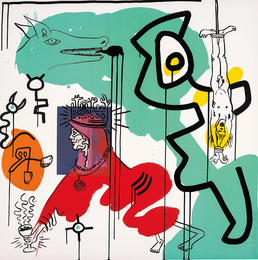 Keith Haring, 'Untitled 9, from Apocalypse,' 1988, Phillips: Evening and Day Editions