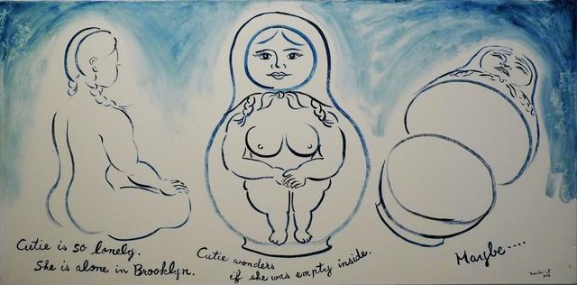 , 'Cutie as a Matryoshka Doll,' 2013, Deborah Colton Gallery