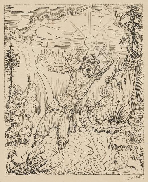 , 'Saint Christopher,' Circa 1912-1915, Galerie St. Etienne