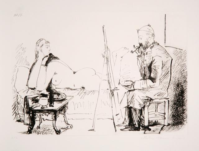 Pablo Picasso, 'Le Peintre et son Modèle, 1955', 1979-1982, RoGallery