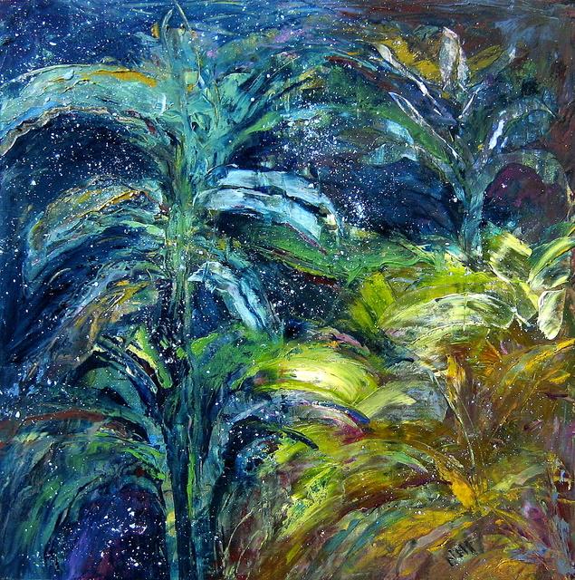 , 'Stars Above the Garden,' 2013, Fountain Street