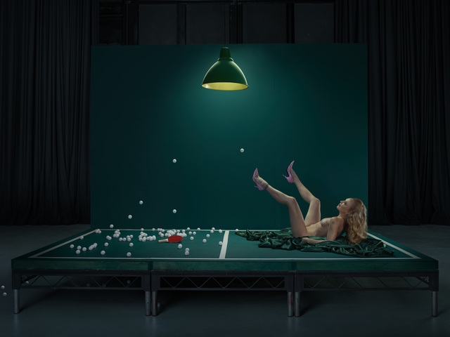 , 'Mouse, Ping Pong Girl,' 2016, Jenkins Johnson Gallery