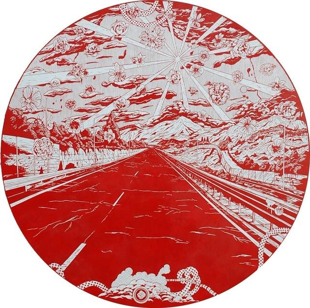 , 'Falling Flowers Road,' 2011, Mark Moore Fine Art