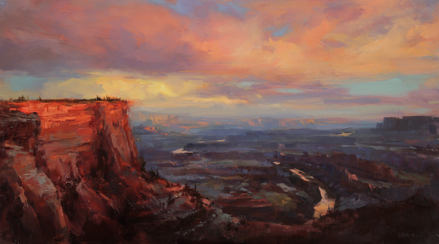 , 'Sunset at Dead Horse Point,' 2018, Abend Gallery