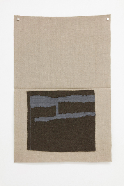 , 'Dark blackish green, light grayish blue (dsh),' 2015, Galerie Nordenhake