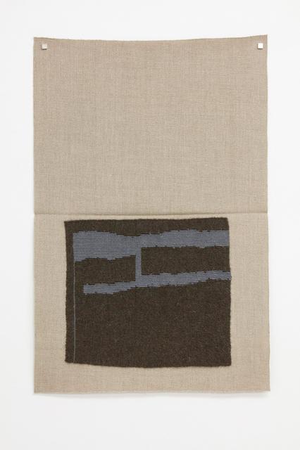 , 'Dark blackish green, light grayish blue (dsh),' 2015, Galerie Nordenhake
