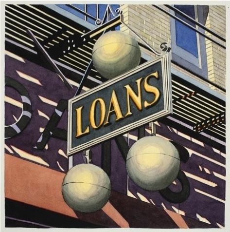 , 'Loans,' 2014, Eckert Fine Art