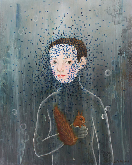 , 'The Boy and Squirrel,' 2018, Patricia Rovzar Gallery