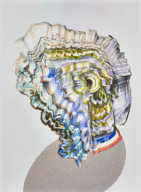 , 'neonatal refractions No 29 (Head),' 2018, Kadel Willborn