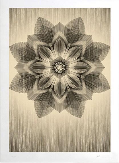 Shepard Fairey, 'Obey vs Kai & Sunny (Gold)', 2013, Artsnap