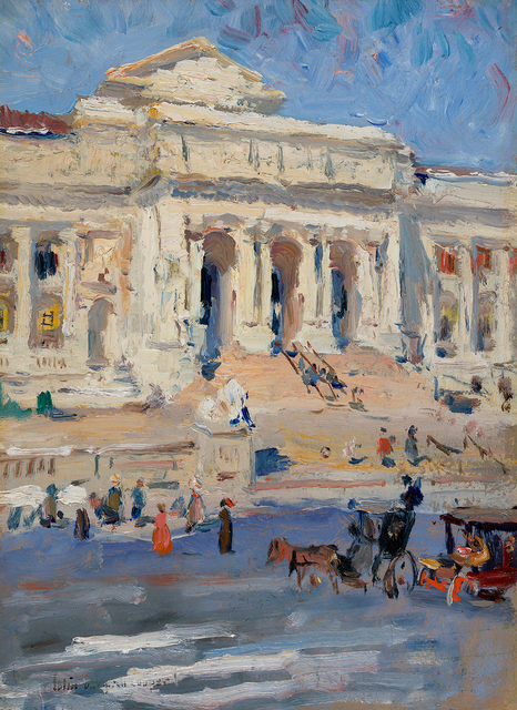 , 'New York Public Library,' , Questroyal Fine Art