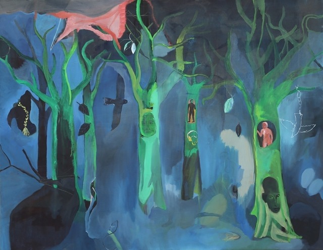 , 'Five Trees,' 2014, Contemporary by Golconda