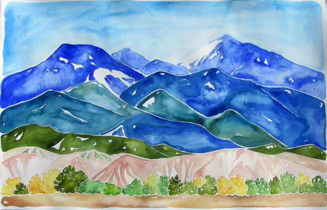 , 'Jemez Mountains, Chicoma Peak,' 2016, Ro2 Art