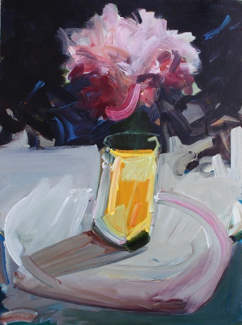 Katherine Boucher Beug, 'Peonie', 2018, Painting, Acrylic on canvas, Oliver Sears Gallery