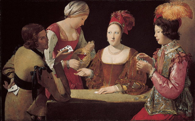 , 'The Cheat with the Ace of Clubs,' 1630-1634, Museo Nacional del Prado
