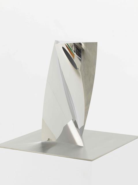 , 'Curved Triangle Twist,' 2016, Tina Kim Gallery