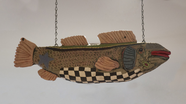 , 'Hanging Fish,' 1982, Main Street Arts