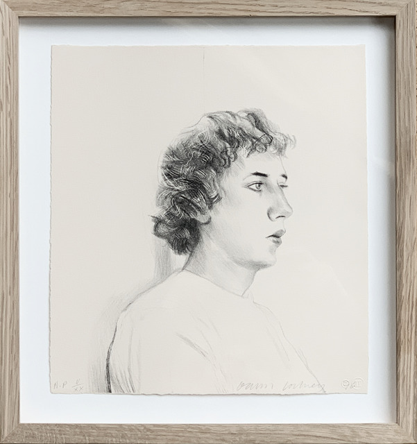 David Hockney, 'Small head of Gregory', 1976, Fairhead Fine Art Limited