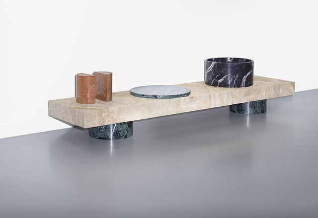, 'Lines & Waves, table 1,' 2014, Victor Hunt Designart Dealer