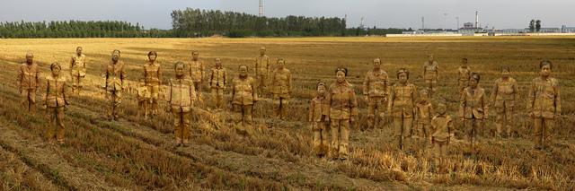 Liu Bolin, 'Hiding in the City - Village', 2013, Eli Klein Gallery