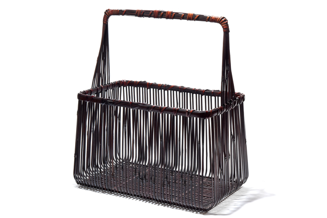 Iizuka Rōkansai, 'Flower Basket; Senjo', Yumekoubou Antique