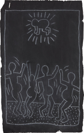 Keith Haring, 'Subway Drawing,' ca 1982, Phillips: 20th Century and Contemporary Art Day Sale (February 2017)