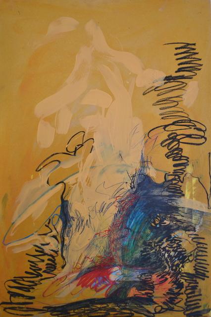 Emma C. Aspeling, 'Side effects', 2019, Painting, Mixed media on board, 99 Loop Gallery