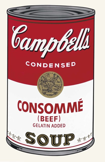 Andy Warhol, 'Campbell's Soup I: Consomme Beef', 1968, Print, Screenprint on paper, Coskun Fine Art