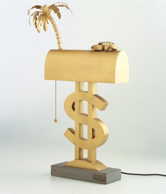 """, '""""Dollaro"""" table lamp,' ca. 1969, Triennale Design Museum"""