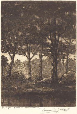 Maurice Jacque, 'Barbizon: Foret de Fontainbleau', National Gallery of Art, Washington, D.C.