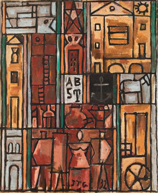 , 'Constructif avec quatre figures (Constructive with four figures),' 1932, The Museum of Modern Art