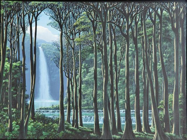Tomás Sánchez, 'Silencio y Cascada', 1995, Latin Art Core